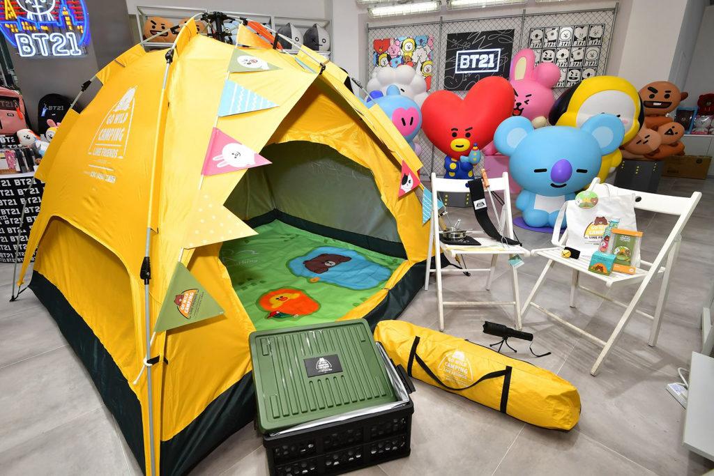 LINE FRIENDS GO WILD CAMPING 2019兩日一夜露營活動 全球首個《LINE FRIENDS GO WILD CAMPING》兩日一夜露營活動,將於上水東華三院馬草壟營地舉辦。