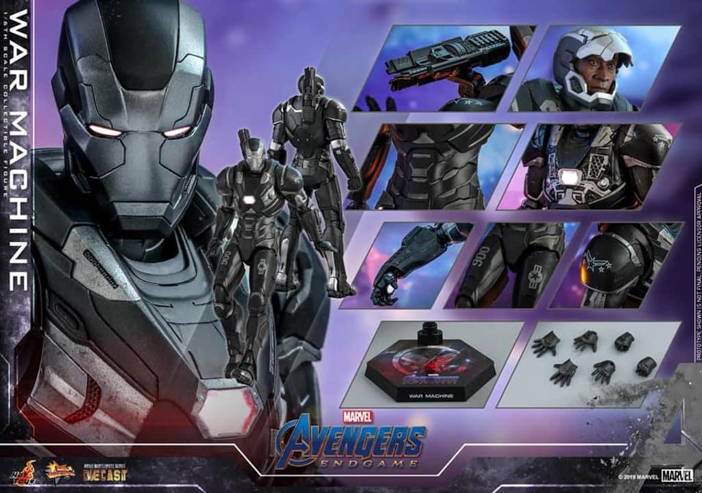 希慎:Marvel Studios《復仇者聯盟 4: 終局之戰》展覽 戰爭機器1:6比例合金珍藏人偶 HK$2,280