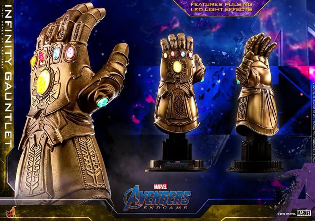 希慎:Marvel Studios《復仇者聯盟 4: 終局之戰》展覽 無限手套1:4比例珍藏品HK$580