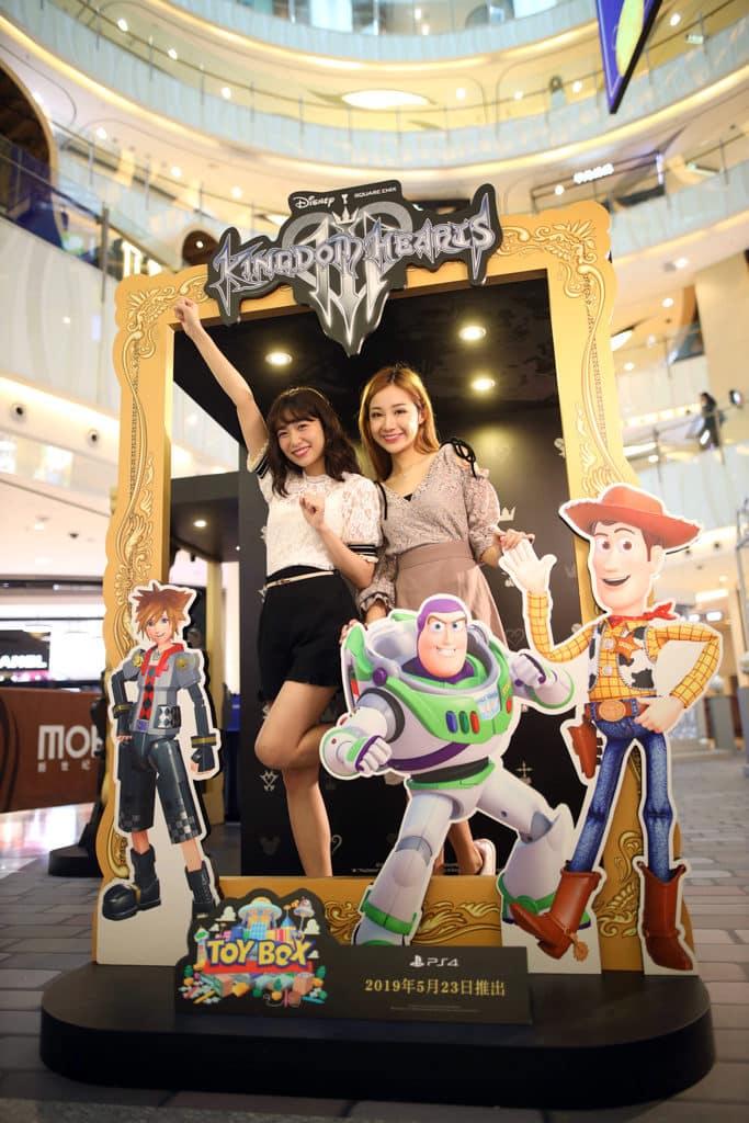 新世紀廣場:MOKO Easter Adventure x PlayStation 《反斗奇兵》人氣角色胡迪及巴斯光年