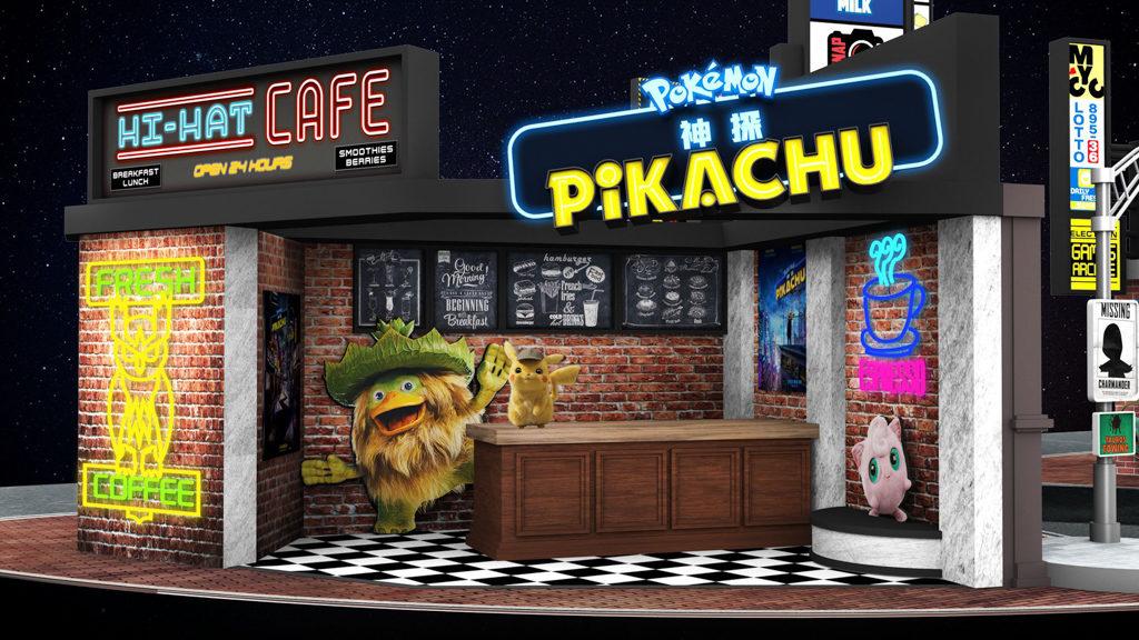 新城市廣場:足智神探全城尋寶POKÉMON大型主題佈置|實景真人電影《POKÉMON神探Pikachu》將於 5 月 9 日上映。