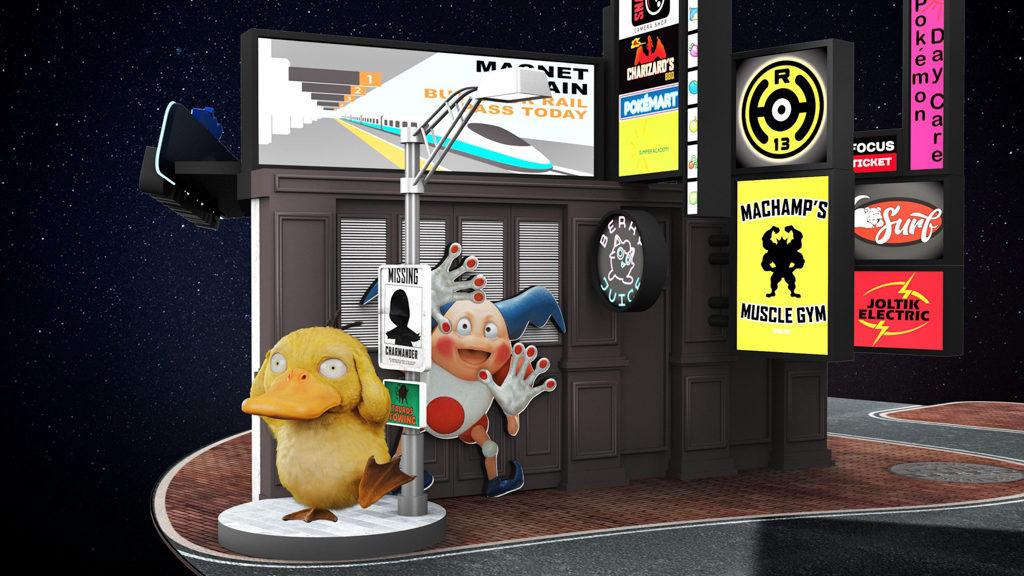 新城市廣場:足智神探全城尋寶POKÉMON大型主題佈置|當然少不了呆呆萌萌的傻鴨。