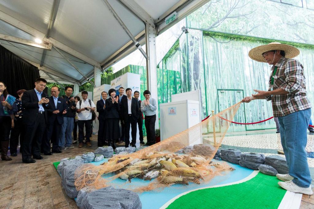 海洋公園:識水嘉年華2019 「識水嘉年華」設有多媒體互動遊戲及展覽。