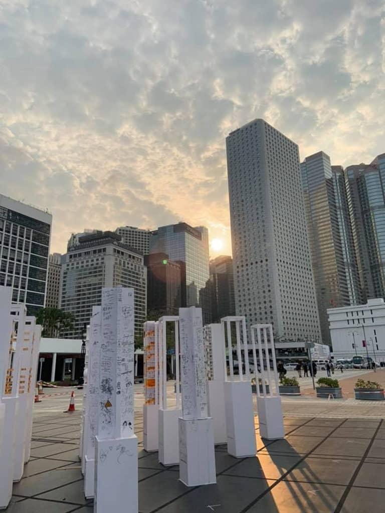「垂直肌理:密度的地景」第十六屆威尼斯國際建築雙年展–香港回應展 中環展城館舉行第一階段展覽。