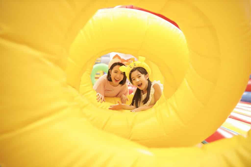 We Go Mall復活節親子遊園巨型玩樂區 主題隧道