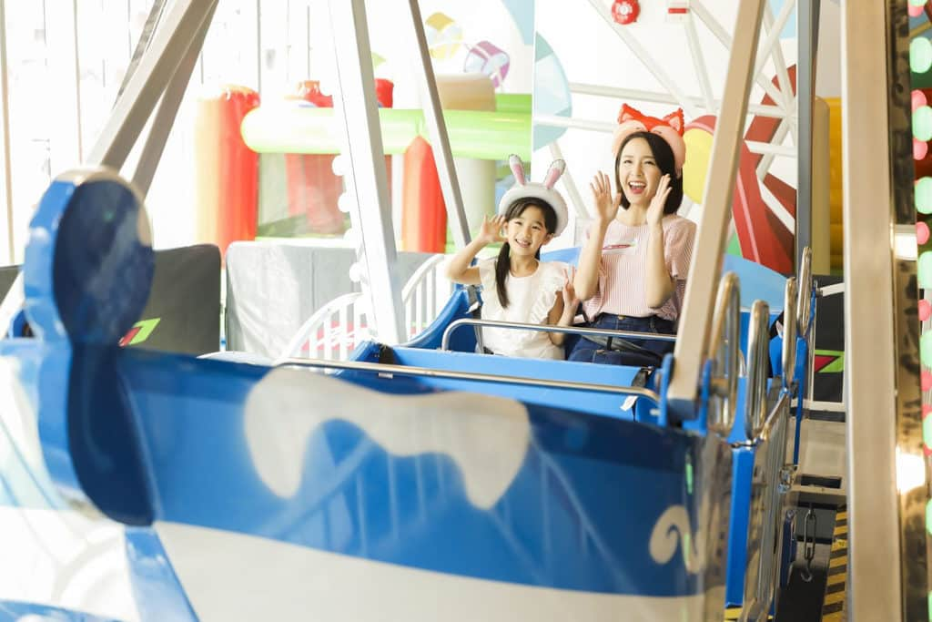 We Go Mall復活節親子遊園巨型玩樂區 至FUN機動遊樂區