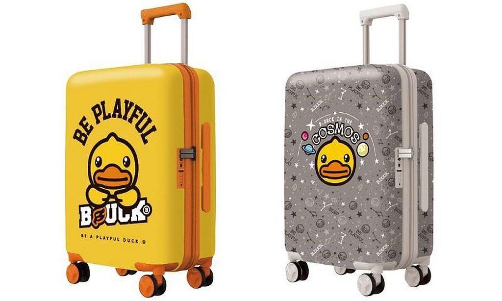 "B.Duck 20""/24""/28"" 行李箱原價$1,500/$1,800/$2,100 港元,SOGO 感謝祭2019 優惠價 $498/$558/$638(首100名顧客可獲摺袋1個) 。只限 5 月 10 日崇光百貨銅鑼灣店 9 樓發售。"