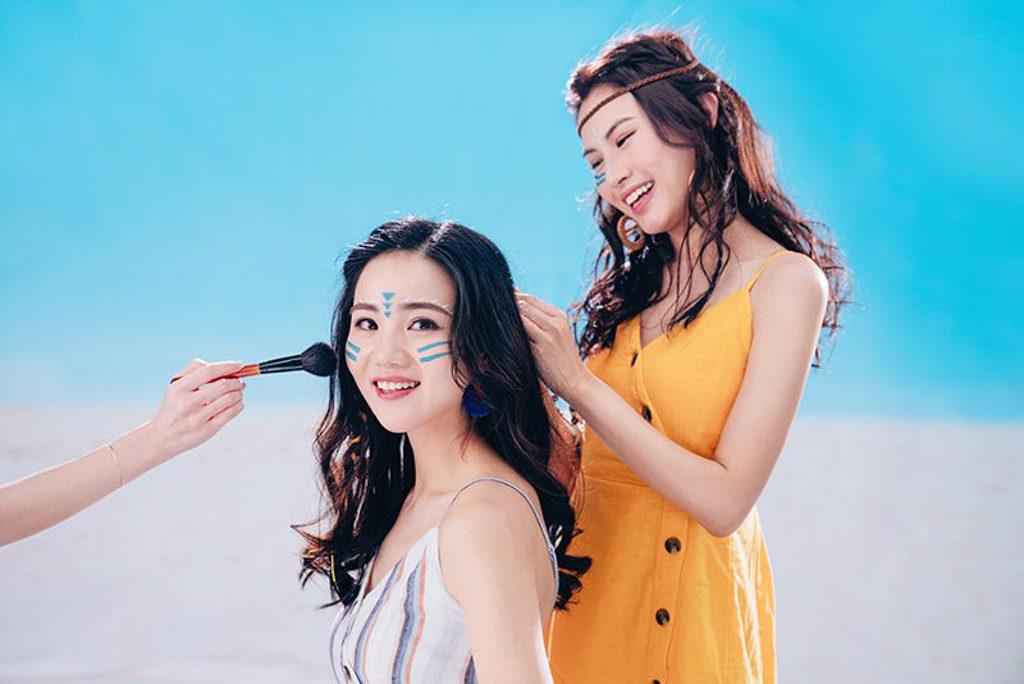 中環海濱活動空間:ANESSA Sun City Fest 2019 彩妝美髮專區