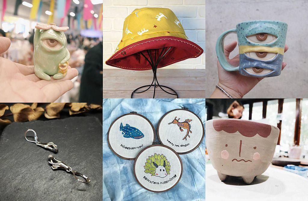 D2 Place「慢活•漫遊異國×插畫師Sisi Li」市集上將會有不同款式的海外品牌設計品販售。
