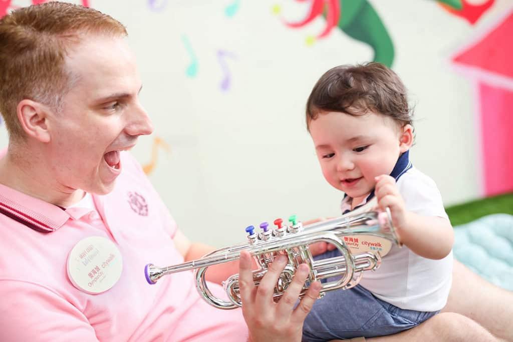 奧海城活動:嬰幼兒互動古典音樂會 音樂會專為 0 至 6 歲嬰幼兒而設。