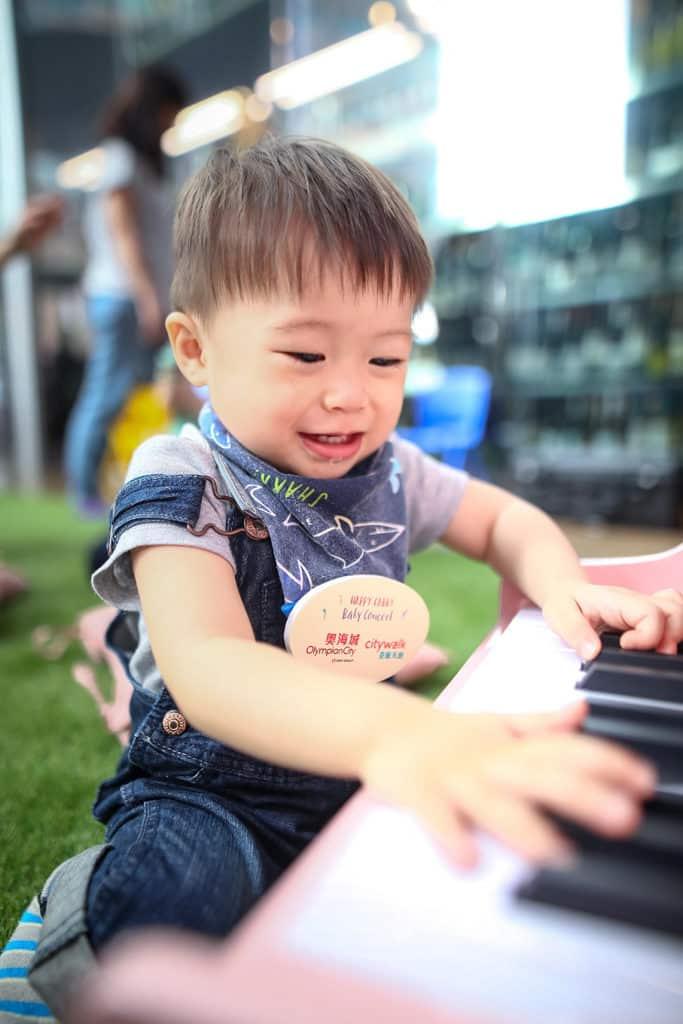 奧海城活動:嬰幼兒互動古典音樂會 嬰幼兒可以透過與音樂家及 Happy Gabby 現場互動,認識及體驗多款樂器。