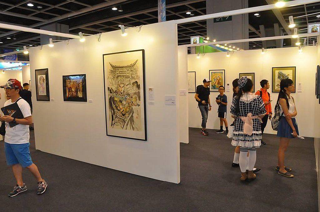 香港動漫展 2019 會設有「獨立漫畫家原創匯展」。