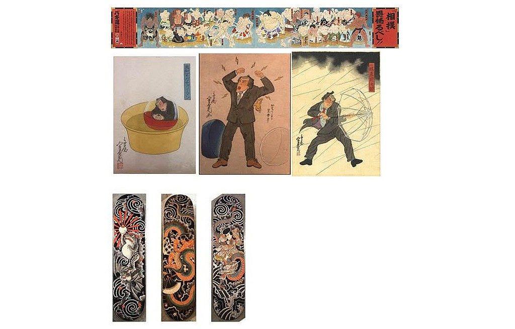 《K11 Art Matsuri 芸術祭》浮世絵調原画展-浮世繪起源於日本 17 世紀,主要描繪人們日常生活、風景、和戲劇。