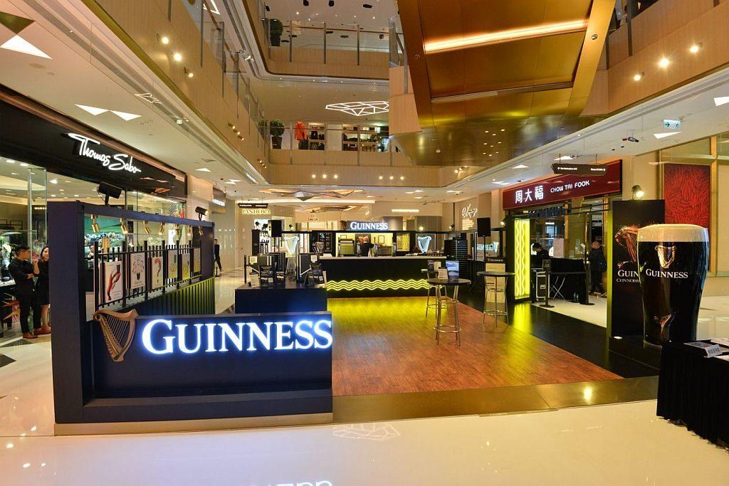 GUINNESS 首度將位於愛爾蘭的 GUINNESS Storehouse 的獨特體驗帶到香港。