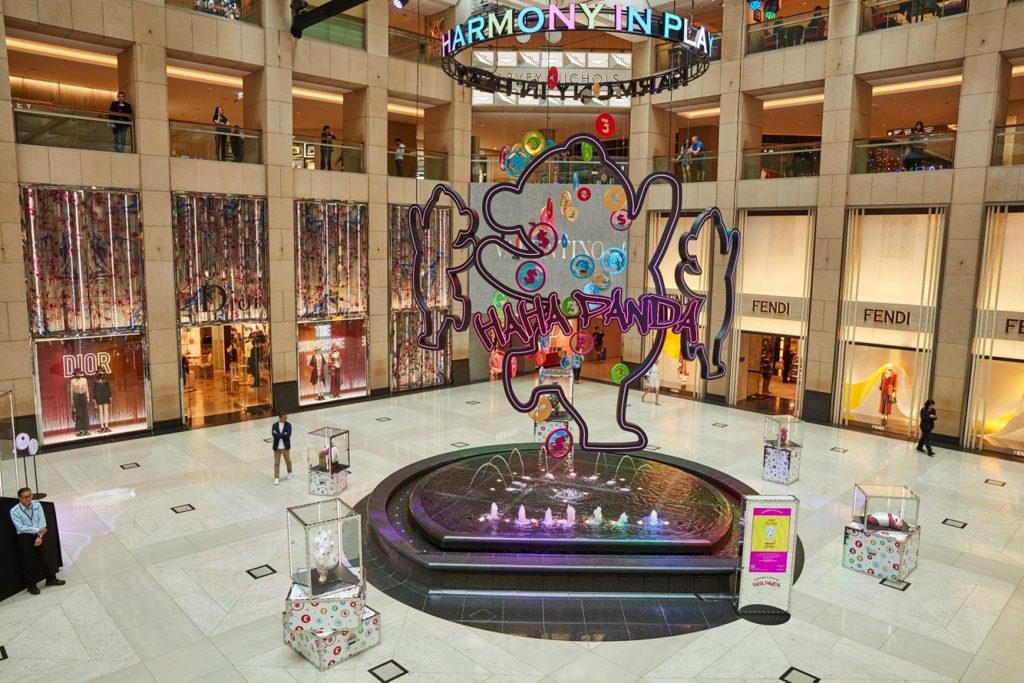 "Landmark置地:HAHA PANDA ""Harmony in Play"" 香港首展 置地廣場中庭將展出由陳瑞麟創作的 12 隻 HAHA PANDA。"