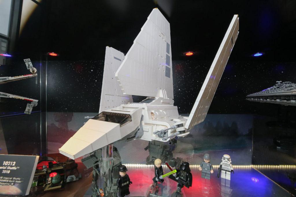 朗豪坊:LEGO X Starwars 20週年紀念展覽 帝國穿梭機(Imperial Shuttle)