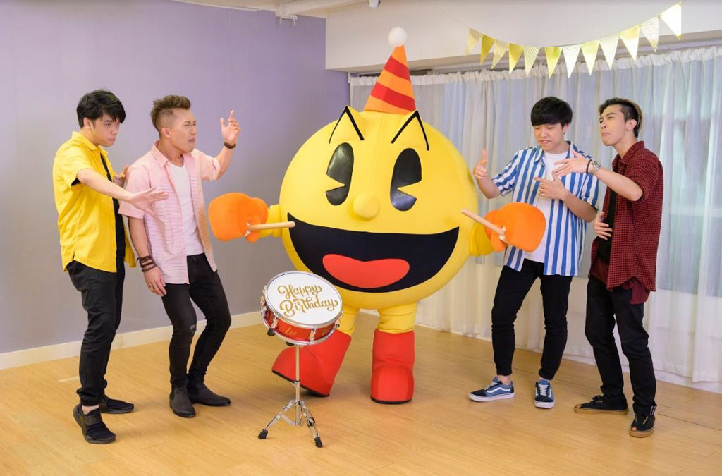 海港城LCX:PAC-MAN x Beatbox『鬼』咁Pop生日派對 本地口技新力軍 Saliva Music 將演出生日神曲,一共演出 3 場。