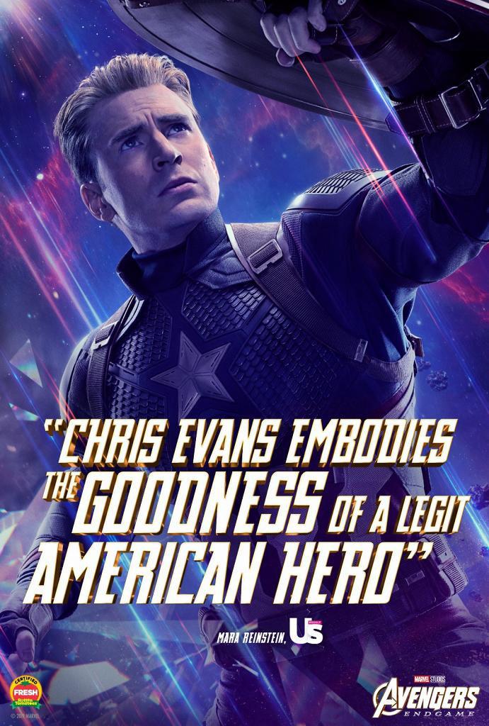入場睇戲Marvel免費送《復仇者聯盟4》海報 美國隊長