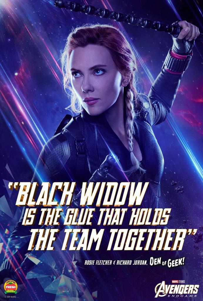 入場睇戲Marvel免費送《復仇者聯盟4》海報 黑寡婦