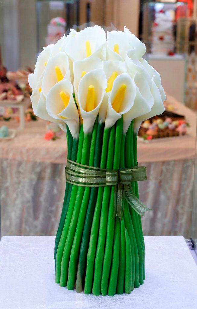 黃埔新天地:母親節香皂花樣甜點屋 蛋糕香皂作品貫徹高雅風格。
