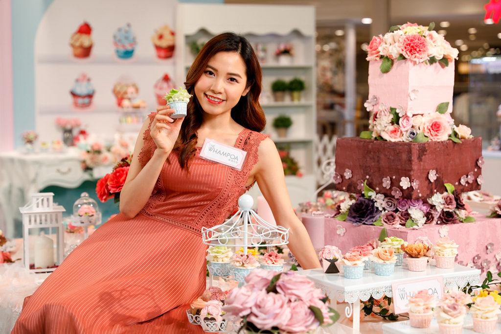 黃埔新天地:母親節香皂花樣甜點屋