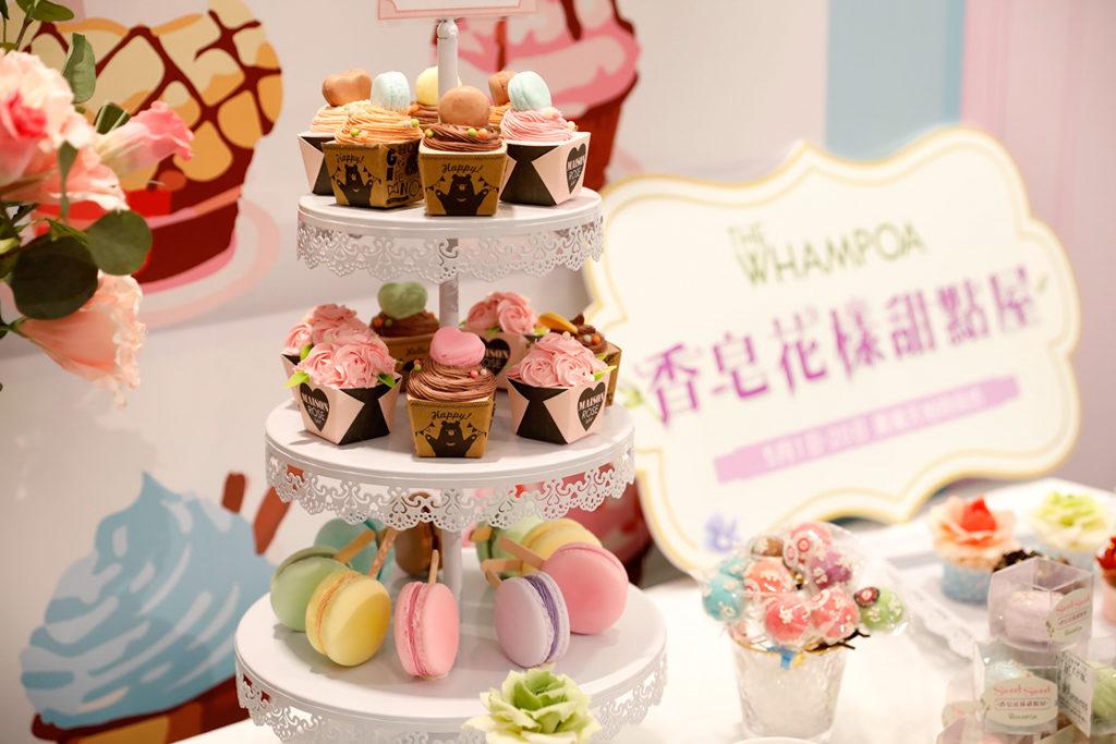 黃埔新天地:母親節香皂花樣甜點屋 甜點香皂裝飾