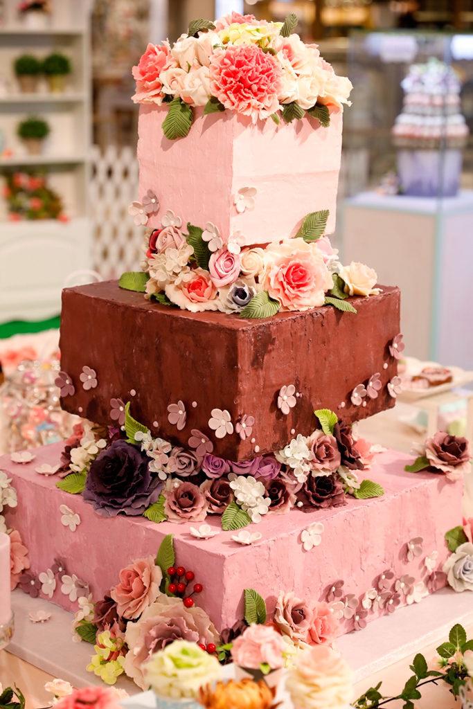 黃埔新天地:母親節香皂花樣甜點屋 1 米高大型蛋糕香皂
