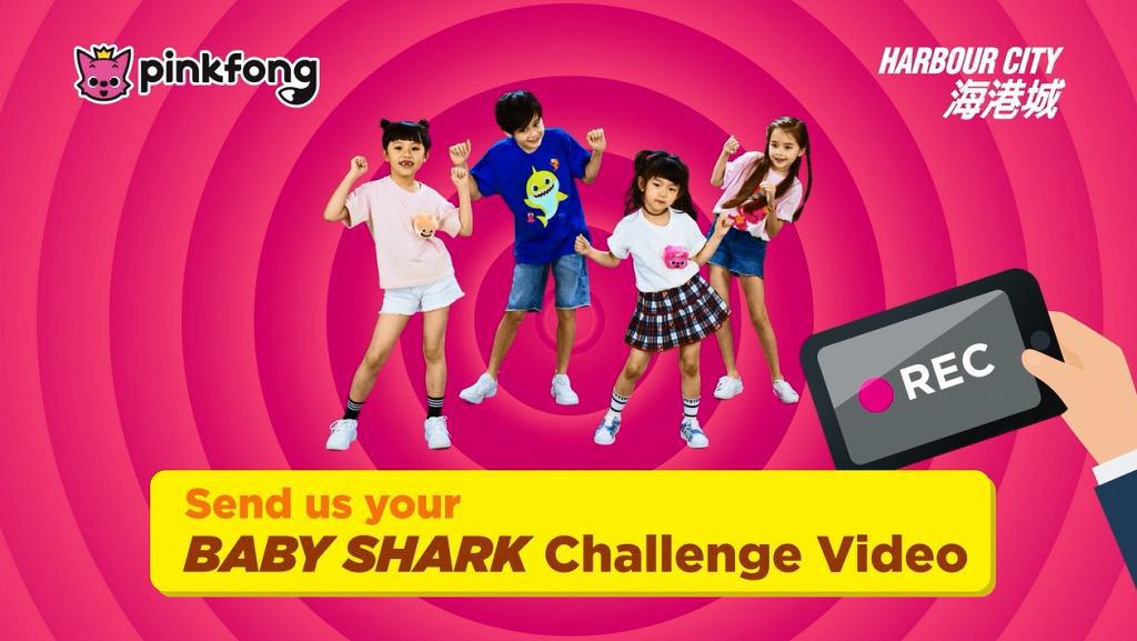 海港城活動:Everyone Can Be a SUPER-Shark網上招募 入圍小朋友將接受專業舞蹈訓練,可在《Baby Shark》香港版MV亮相。
