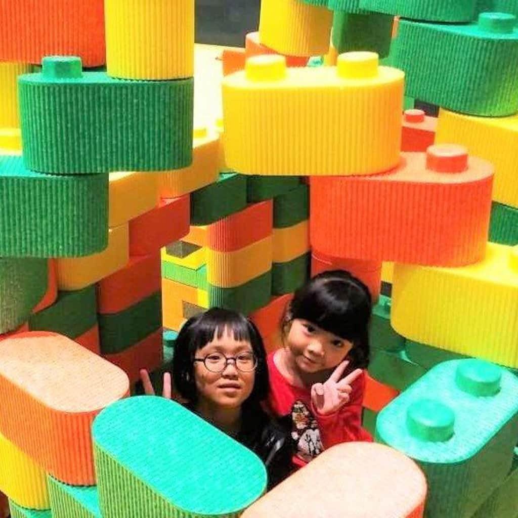 "D‧PARK愉景新城:""Maker Park"" 兒童創造館 小朋友在內親手堆砌屬於自己的世界。"