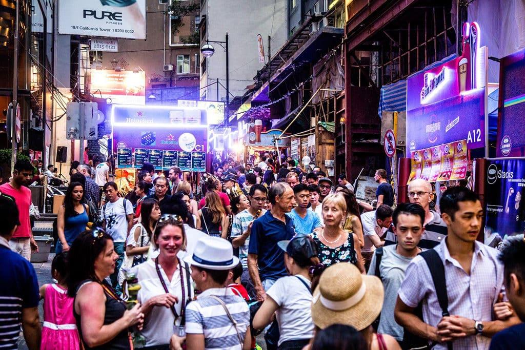 蘭桂坊Street Party街頭派對 中環蘭桂坊Street Party街頭派對今年再度舉行。