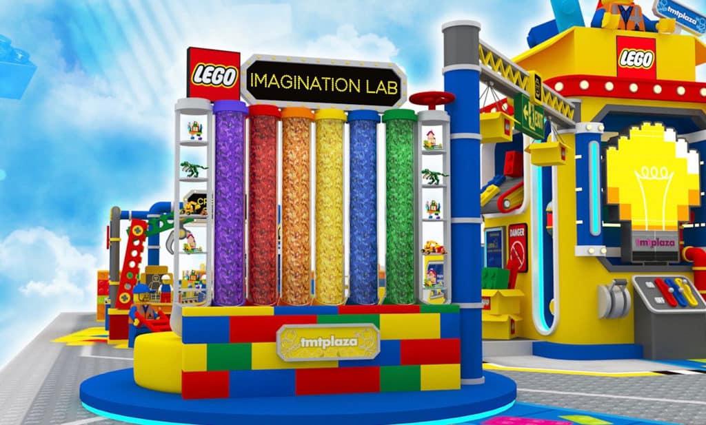屯門市廣場:LEGO Big Box Factory 幻想創造站