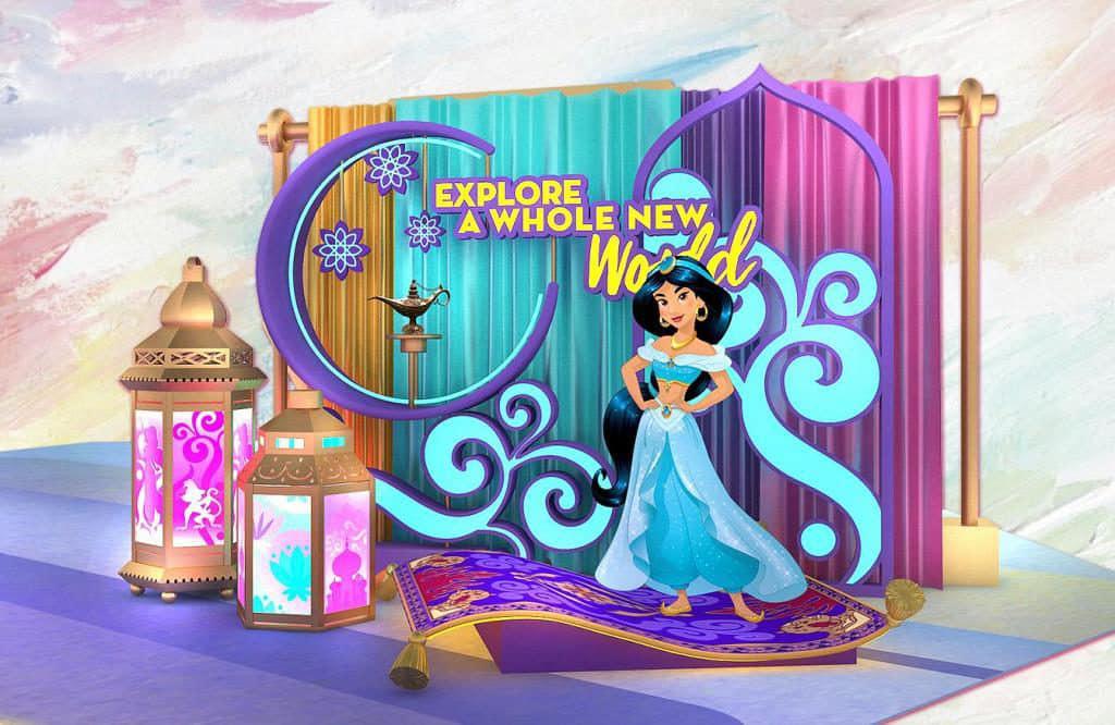 MOKO:迪士尼主題活動「Disney Princess – Believe in Yourself」聰明有主見、勇敢又獨立的茉莉