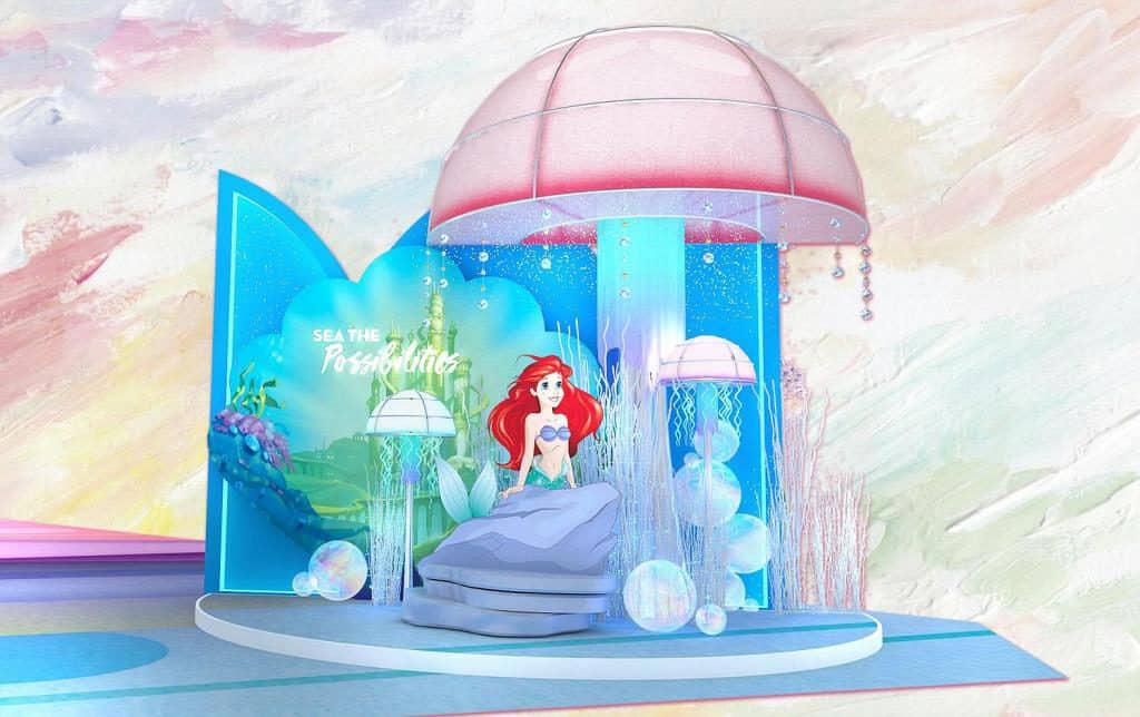MOKO:迪士尼主題活動「Disney Princess – Believe in Yourself」個性大膽、熱愛冒險又滿有好奇心的艾莉奧