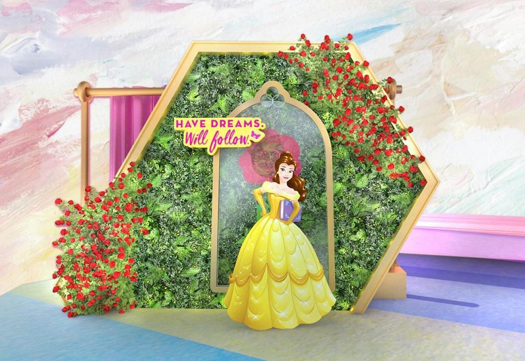 MOKO:迪士尼主題活動「Disney Princess – Believe in Yourself」聰明漂亮、心地善良又好學的貝兒