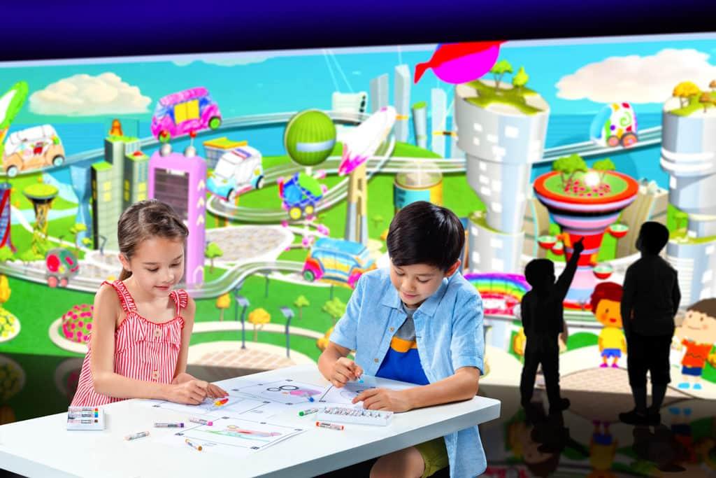 挪亞方舟:e-Planet夢想星球光影互動展館 未來城市