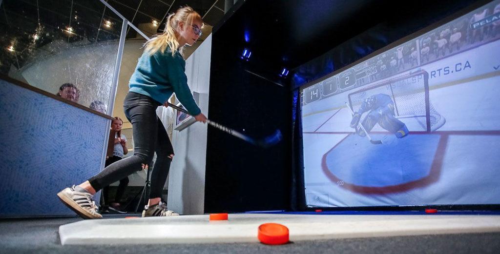 科學館:冬季冰運會展覽