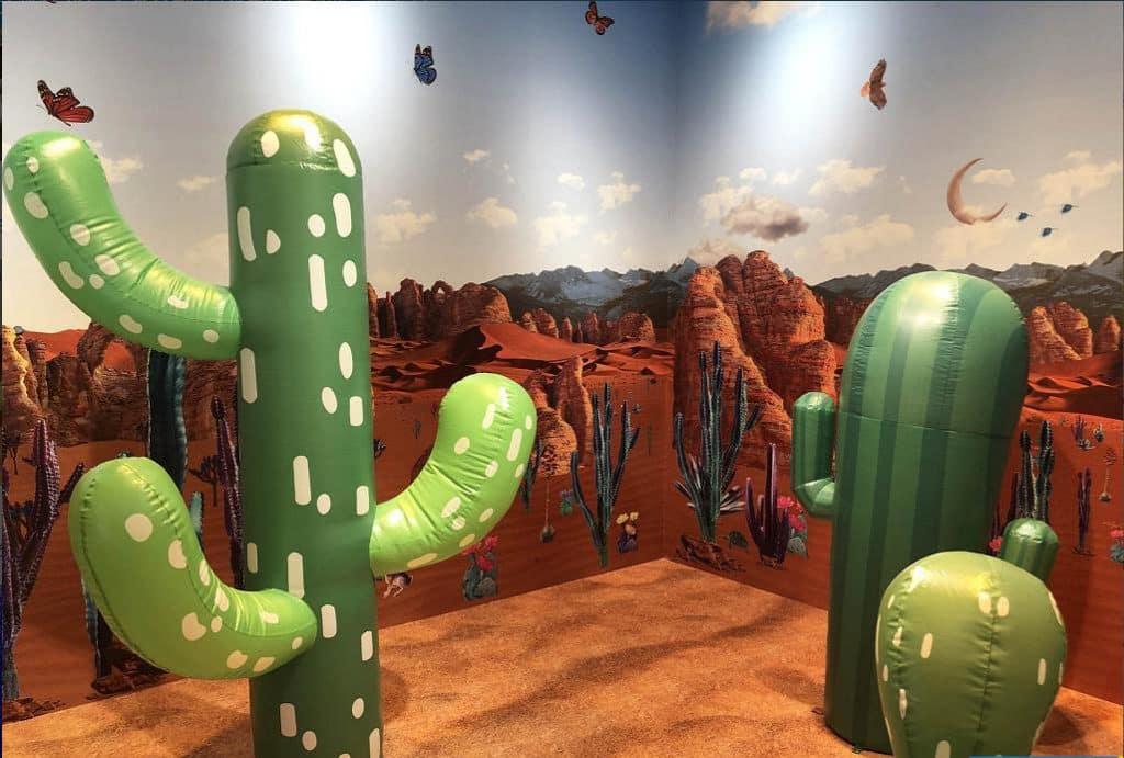 時代廣場活動:大自然彩色小屋 沙漠屋