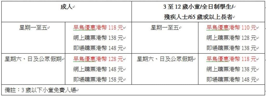 MegaBox:變變變!MOVE生物體驗展 「變變變!MOVE生物體驗展」香港站票價