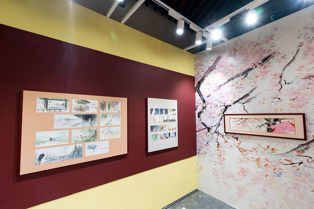 今次《輝耀姬物語》手稿展首次在日本以外地區公開展出。