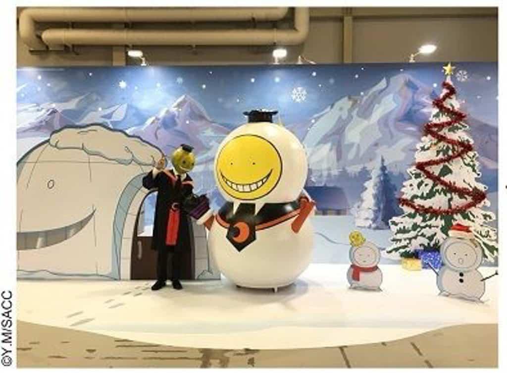 D2 Place:動漫狂賞曲大型綜合動漫主題展 《暗殺教室》