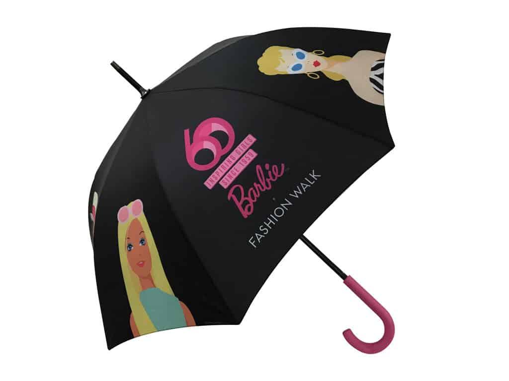 "恒隆地產商場:Barbie ""You Can Be Anything"" Barbie雨傘"