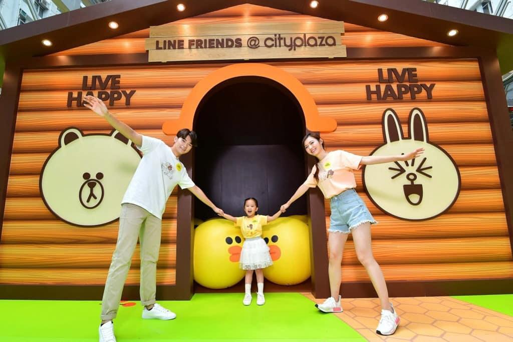 太古城中心:LINE FRIENDS結伴樂遊遊 光影SALLY小木屋