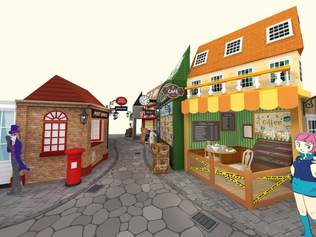 荃新天地:大偵探福爾摩斯「神探大搜查」 荃新天地帶來主題互動偵探遊樂園,將 19 世紀倫敦街道還原。
