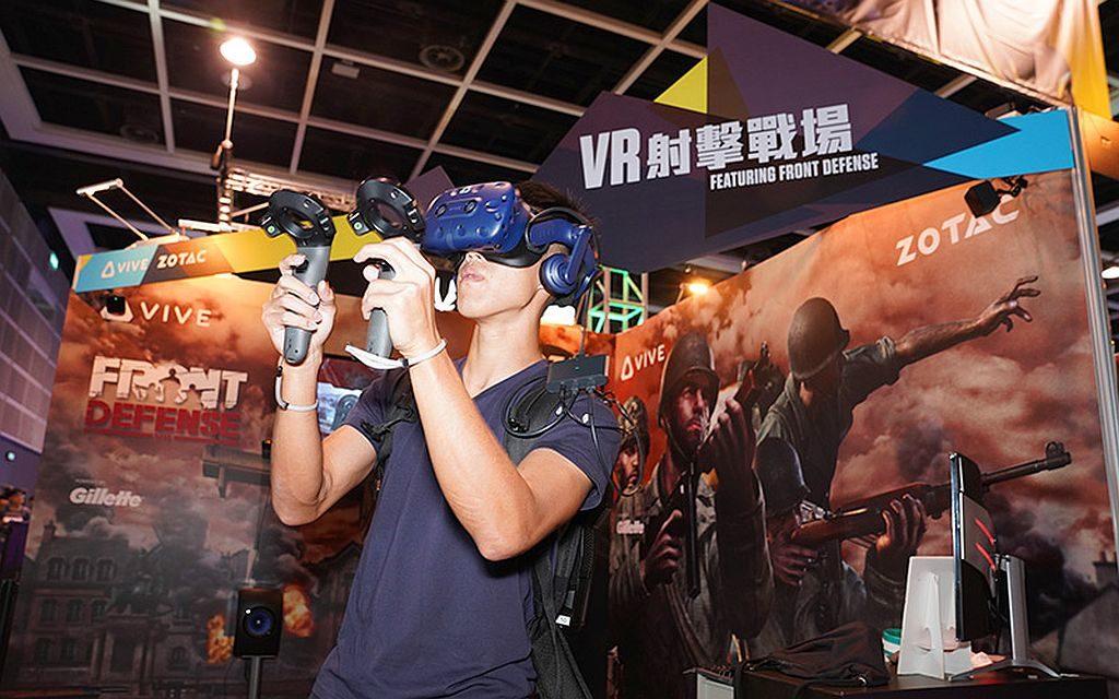 香港電競音樂節會場內將會有各式 VR 遊戲供入場人士試玩。