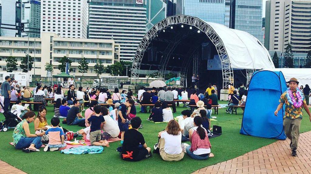 中環夏誌2019:夏威夷小結他節 大舞台有香港及來自世界各地的好手會帶來音樂及表演。