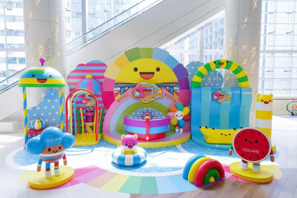 iSQUARE國際廣場:ChocoToy Summer Rush 玩轉至激水上樂園