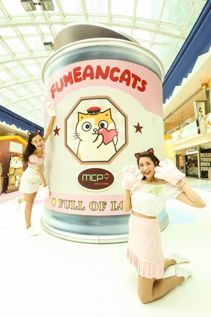 MCP新都城中心:黃阿瑪夢「箱」世界 巨型1:100「罐罐」模型