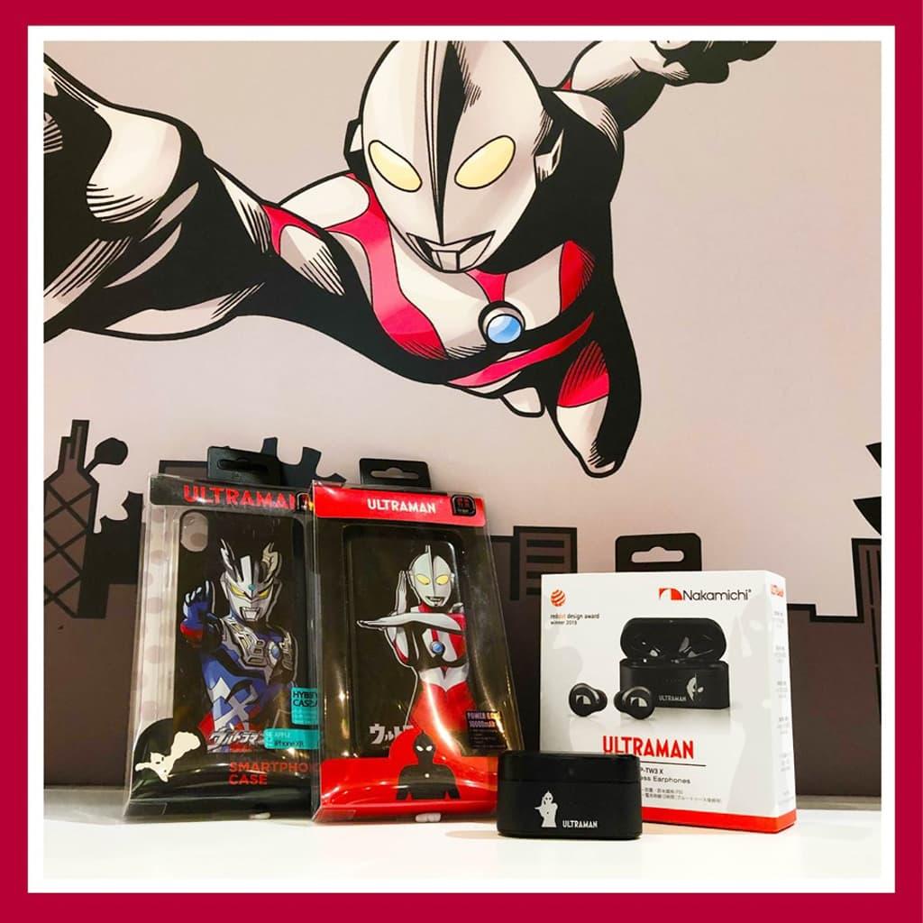 MegaBox:Ultraman 期間限定店 手機配件、流動充電器