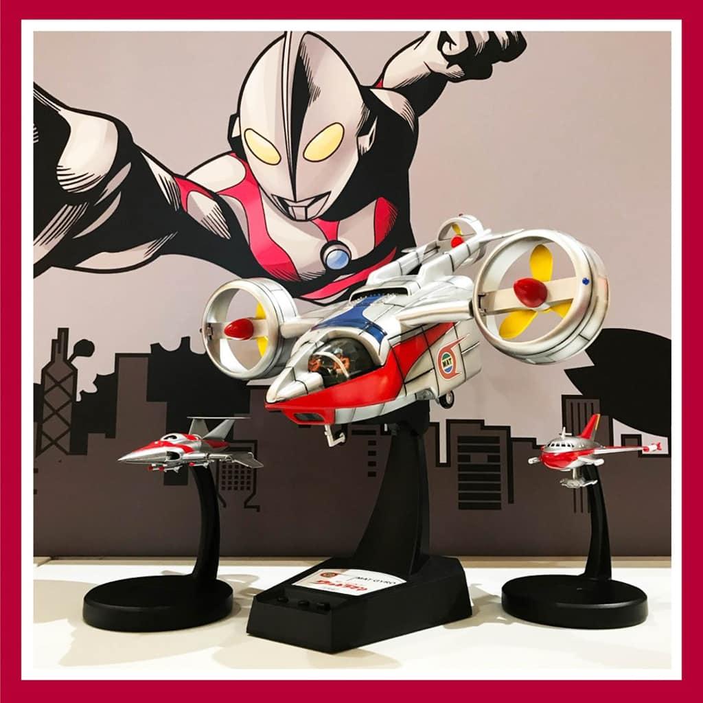 MegaBox:Ultraman 期間限定店 MAT- 3號機道具級飛機模型
