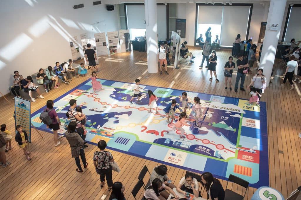香港海事博物館:仲夏夜之敘·頌夏日之樂 「進港了!巨型棋盤遊戲」